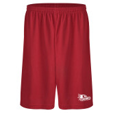 Bookstore Performance Classic Red 9 Inch Short-SEMO Logo for Vinyl