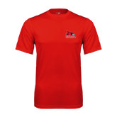 State Syntrel Performance Red Tee-Official Logo