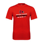 Syntrel Performance Red Tee-Volleyball Can You Dig It