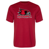 Bookstore Performance Red Tee-Primary Logo