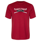 Bookstore Performance Red Tee-Baseball