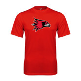 State Syntrel Performance Red Tee-Redhawk Head