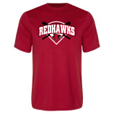 Bookstore Performance Red Tee-Softball