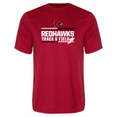 Bookstore Performance Red Tee-Track & Field