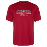 Bookstore Performance Red Tee-Grandpa