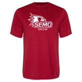 Bookstore Performance Red Tee-Soccer