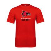 Performance Red Tee-Alumni