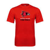 State Syntrel Performance Red Tee-Football