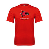 State Syntrel Performance Red Tee-Soccer