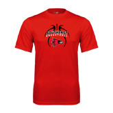 State Syntrel Performance Red Tee-Graphics in Basketball