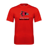 State Syntrel Performance Red Tee-Cross Country