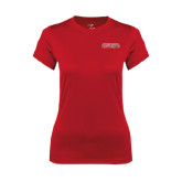 Ladies Syntrel Performance Red Tee-Southeast Missouri Redhawks