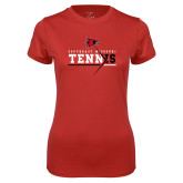 Bookstore Ladies Syntrel Performance Red Tee-Tennis