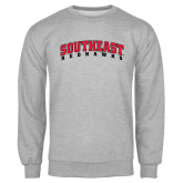 Grey Fleece Crew-Southeast Redhawks