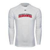 State Under Armour White Long Sleeve Tech Tee-Arched Southeast Missouri Redhawks