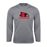 State Syntrel Performance Steel Longsleeve Shirt-Official Logo