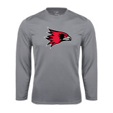 State Syntrel Performance Steel Longsleeve Shirt-Redhawk Head