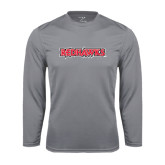 State Syntrel Performance Steel Longsleeve Shirt-Redhawks