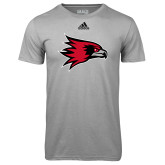 Bookstore Adidas Climalite Sport Grey Ultimate Performance Tee-Hawk Head