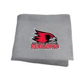 State Grey Sweatshirt Blanket-Official Logo