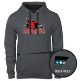 Bookstore Contemporary Sofspun Charcoal Heather Hoodie-Official Logo