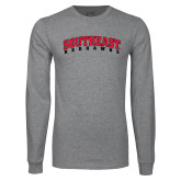 Grey Long Sleeve T-Shirt-Southeast Redhawks