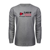 Grey Long Sleeve T-Shirt-Class of Outline