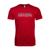 Next Level SoftStyle Cardinal T Shirt-Southeast Missouri Redhawks