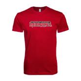 Next Level SoftStyle Cardinal T Shirt-Southeast Missouri Redhawks