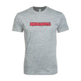 Next Level SoftStyle Heather Grey T Shirt-Redhawks