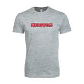 Next Level SoftStyle Heather Grey T Shirt-Redhawks