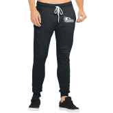 Bookstore Bella Canvas Charcoal Heather Joggers-SEMO Logo for Vinyl