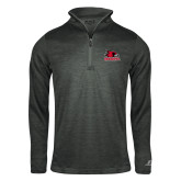 Bookstore Russell Charcoal Heather 1/4 Zip-Primary Logo