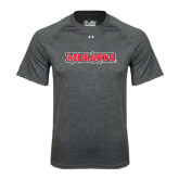 State Under Armour Carbon Heather Tech Tee-Redhawks