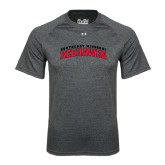 State Under Armour Carbon Heather Tech Tee-Arched Southeast Missouri Redhawks