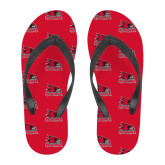 Bookstore Full Color Flip Flops-Primary Logo