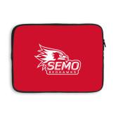 Bookstore 13 inch Neoprene Laptop Sleeve-SEMO Logo with Redhawks
