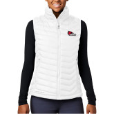 Bookstore Columbia Powder Lite  Ladies White Vest-SEMO Logo Embroidery