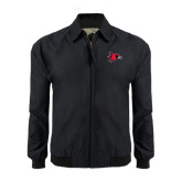 State Black Players Jacket-Redhawk Head