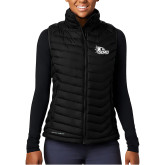 Bookstore Columbia Powder Lite Ladies Black Vest-SEMO Logo Embroidery