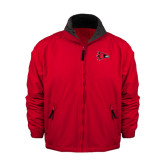 State Red Survivor Jacket-Redhawk Head