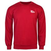 Bookstore Red Fleece Crew-SEMO Logo Embroidery