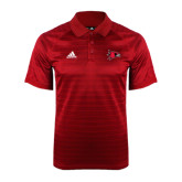 Adidas Climalite Red Jaquard Select Polo-Redhawk Head