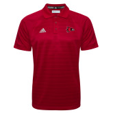 Bookstore Adidas Climalite Red Jacquard Select Polo-Hawk Head