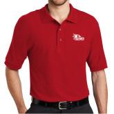 Bookstore Red Easycare Pique Polo-SEMO Logo Embroidery