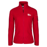 Bookstore Columbia Ladies Full Zip Red Fleece Jacket-SEMO Logo Embroidery