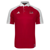 Bookstore Adidas Modern Red Varsity Polo-Primary Logo