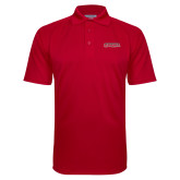 Bookstore Red Textured Saddle Shoulder Polo-Southeast Missouri Redhawks