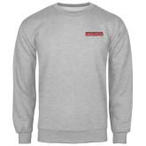 Grey Fleece Crew-Southeast Missouri Redhawks