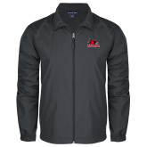 Bookstore Full Zip Charcoal Wind Jacket-Primary Logo